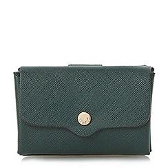 Dune - Green 'Kimberley' mini envelope purse