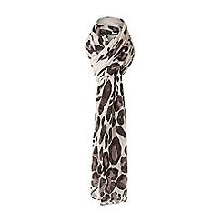 Dune - Multicoloured 'Leya' leopard print scarf