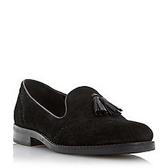 Dune - Black brogue tassel detail loafer