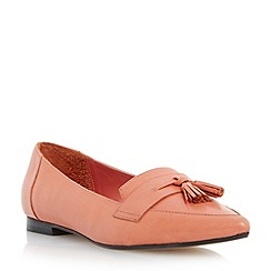 Dune - Bright pointed toe tassel loafer
