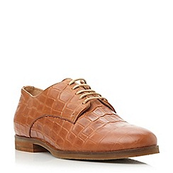 Dune - Brown leather lace up shoe