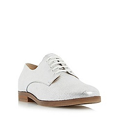 Dune - Silver 'Labouxx' lace up shoe