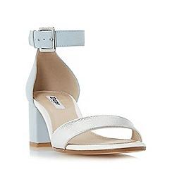 Dune - Multicoloured 'Jaygo' two part block heel sandal