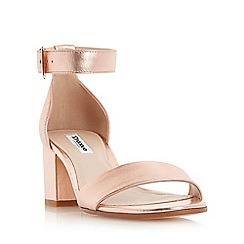 Dune - Rose 'Jaygo' two part block heel sandal