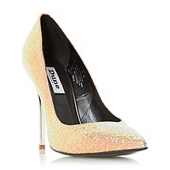 Dune - Multicoloured 'Aimey' pointed toe high heel court shoe