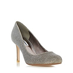 Dune - Metallic 'Aggilera' round toe court shoe