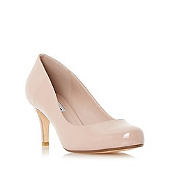Dune - Light pink 'Amelia' mid heel court shoe