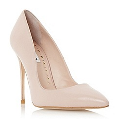Dune - Pink pointed toe high heel court shoe