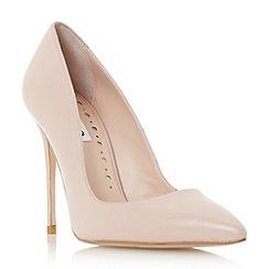 Dune - Pink pointed toe high heel court shoe
