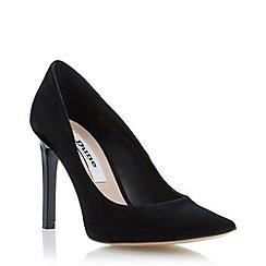 Dune - Black extreme pointed toe heeled court shoe