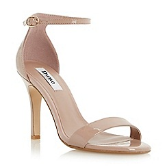 Dune - Neutral two part ankle strap sandal