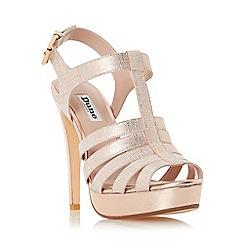 Dune - Rose 'Marbaya' high heel platform sandal