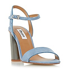 Dune - Blue 'Matylda' two part round heel sandal