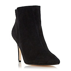 Dune - Black high heel pointed toe ankle boot