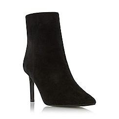 Dune - Black 'Oralia' pointed toe mid heel ankle boot