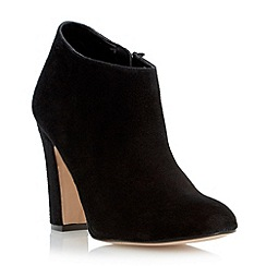 Dune - Black dressy heeled ankle boot