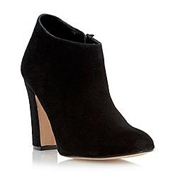 Dune - Black dressy heeled ankle boot