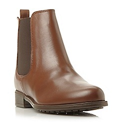 Dune - Brown 'Parrys' chelsea boot