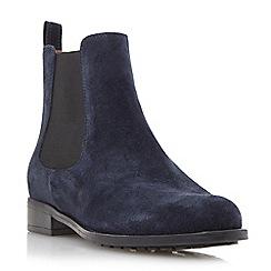 Dune - Blue chelsea boot