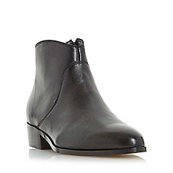 Dune - Black 'Pearcey' pointed toe ankle boot