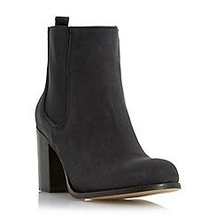 Dune - Black 'Prynn' block heel chelsea boot