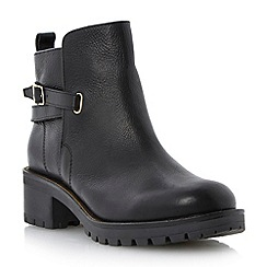 Dune - Black rand ankle boot