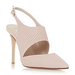 Dune - Light pink 'Caprice' stiletto slingback court shoe
