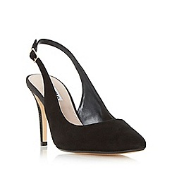Dune - Black 'Cathy' slingback mid heel court shoe