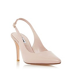Dune - Light pink 'Cathy' slingback mid heel court shoe