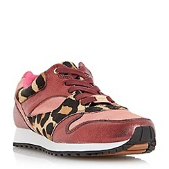 Dune - Multicoloured 'Edmonds' mixed material fashion trainer
