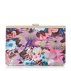 Head Over Heels by Dune - Multicoloured 'Barlie' metal frame clutch bag