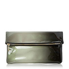 Head Over Heels by Dune - Black 'Balley' ombre fold over clutch bag