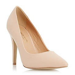 Head Over Heels by Dune - Neutral pointed toe court shoe