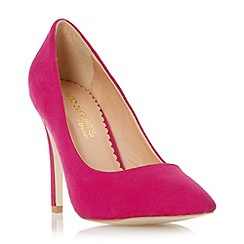 Head Over Heels by Dune - Pink pointed toe court shoe