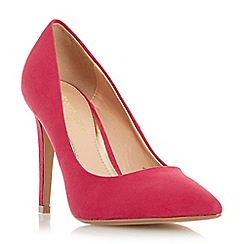 Head Over Heels by Dune - Pink 'Addyson' pointed toe high heel court shoe