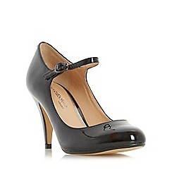 Head Over Heels by Dune - Black 'Agnes' mary jane court shoe