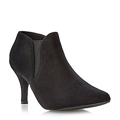 Head Over Heels by Dune - Black pointed toe chelsea boot