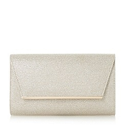 Roland Cartier - Gold 'Blyss' metal hardware detail flap clutch bag
