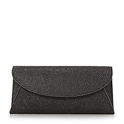 Roland Cartier - Black fold over clutch bag