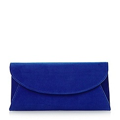 Roland Cartier - Blue fold over clutch bag