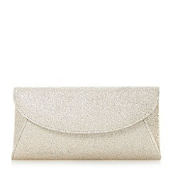 Roland Cartier - Gold fold over clutch bag