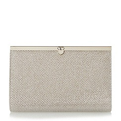Roland Cartier - Gold 'Bronite' penny lock clutch bag