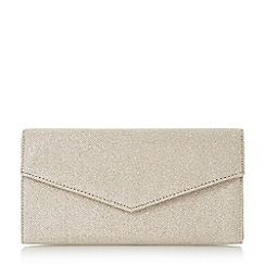Roland Cartier - Gold 'Berla' envelope fold over clutch bag