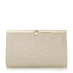 Roland Cartier - Gold 'Bessi' penny lock clutch bag