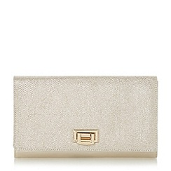 Roland Cartier - Gold 'Becka' flip lock clutch bag
