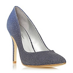 Roland Cartier - Blue ombre pointed toe court shoe