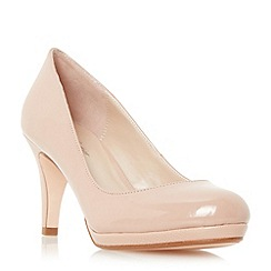 Roland Cartier - Natural 'Balum' round toe platform court shoe