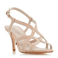 Roland Cartier - Natural 'Myer' strappy mid heel sandal