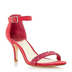 Roland Cartier - Pink two part mid heel sandal