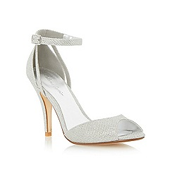 Roland Cartier - Metallic two part heeled dressy sandal